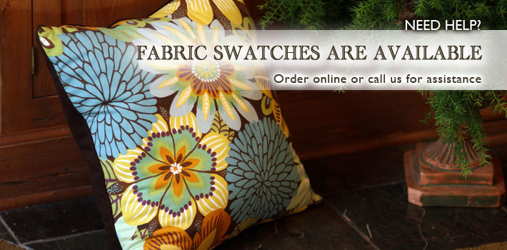 Fabric Swatches Are Available