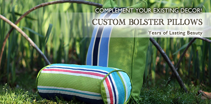 Custom Bolster Pillows