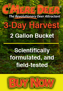 Cmere Deer 3 Day Harvest Deer Attractant