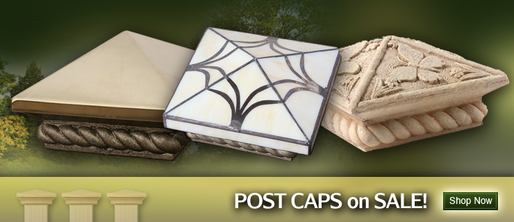 Post Caps on Sale