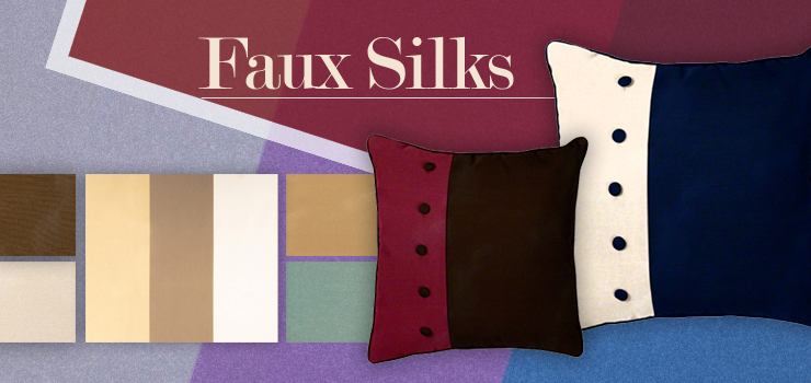 Faux Silk Fabric