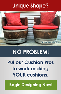 Cushion Pros Custom Cushions