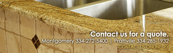 Contact us for a granite quote.