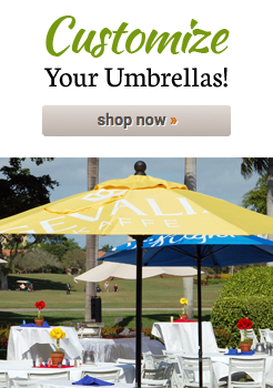 Customize Your Umbrellas