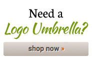 Need a logo umbrella?