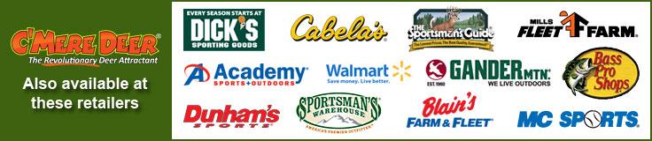 C'mere Deer Retailers
