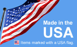 Made in the USA - Items marked with a USA flag