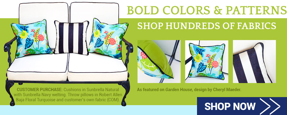 Shop Bold Colors and Patterns