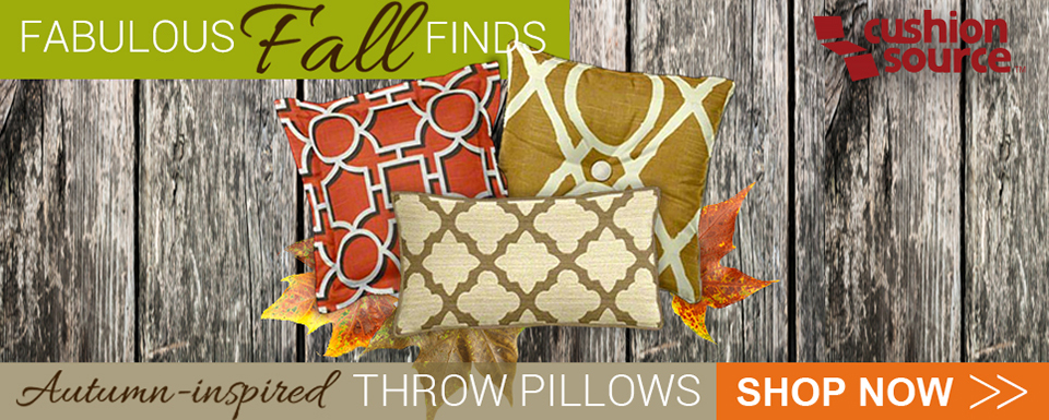 Fabulous Fall Finds - Autumn-Inspired Throw Pillows