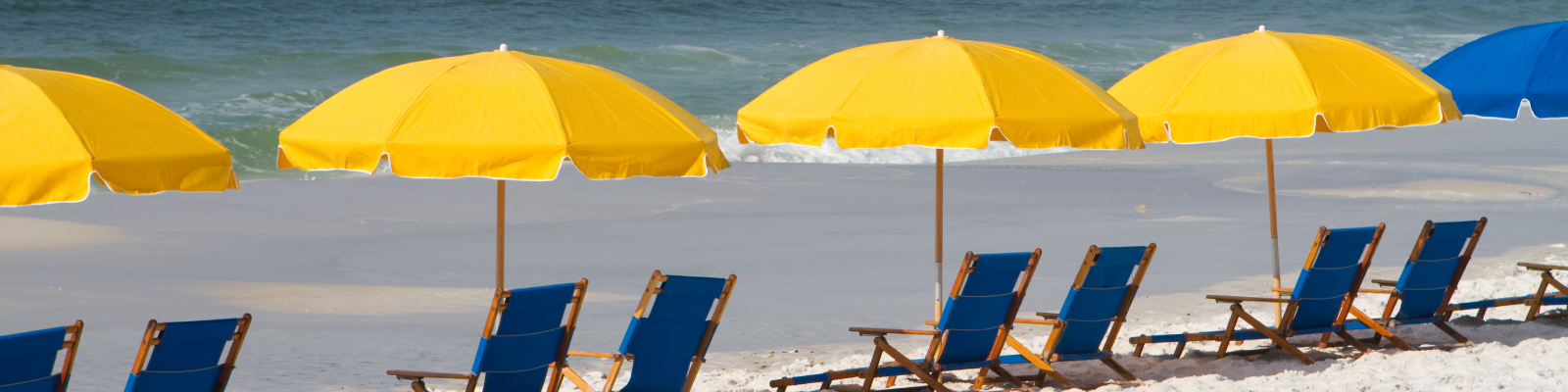 Beach Umbrellas & Chairs