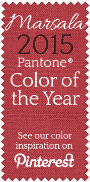 Marsala, 2015 Pantone color of the year