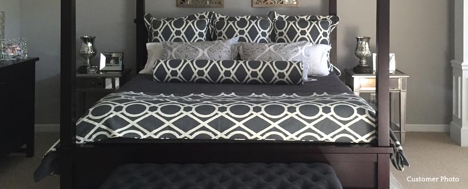 Custom Bedding from Cushion Source customer image