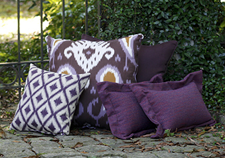 Purple Decorative Throw Pillows