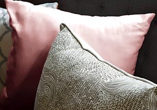 Decorative Pink Throw Pillows