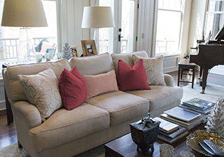 Traditional Pink Decorative Pillows