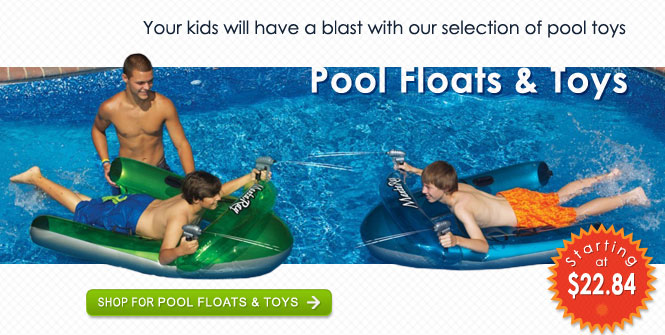 Your kids will have a blast with our selection of pool toys