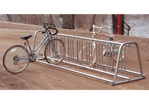 bike rack, commercial bike rack, a-frame bike rack