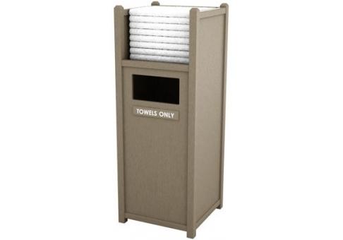 32 Gallon St Vertical Towel Shelf Commercial Site