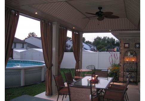 Then, I Found OutdoorDrapes.com And Was Sold On The Idea Of Using Outdoor  Curtains. My Wife And I Ordered Many Samples That Coordinated With The  Accessories ...