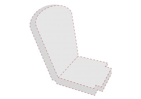 unique shape rocking chair cushion - Rocking Chair Cushion Sets