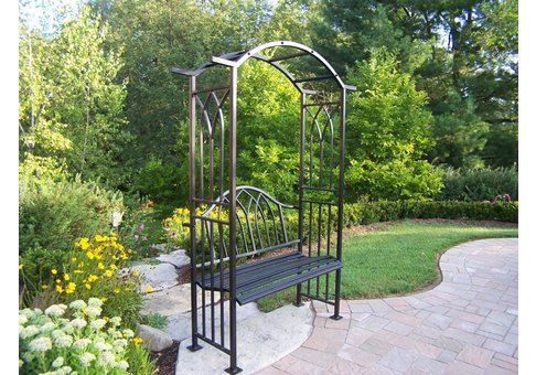 Royal Arbor with Bench