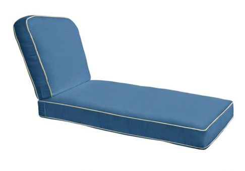 Custom Deep Seating Chaise Cushion ...  sc 1 st  Cushion Source : lounge chaise cushions - Sectionals, Sofas & Couches