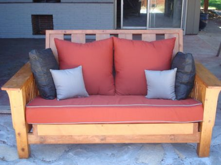 custom futon cushions