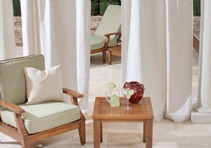 Custom Drapes - Indoor/Outdoor