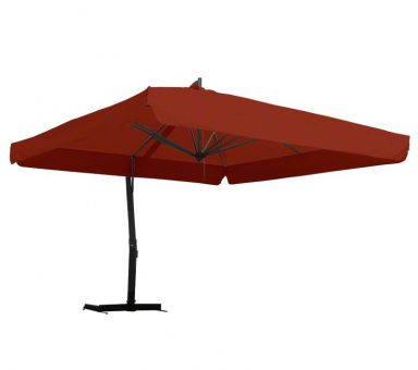 Side post umbrella