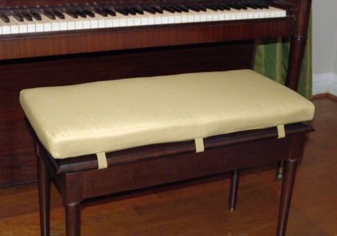 Custom Piano Bench Cushion Deluxe Cushion Source