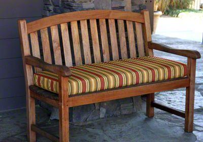 Sunbrella Bench Cushion