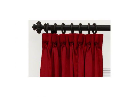 how to make goblet pleat curtains
