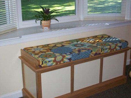 Custom Hope Chest Cushion