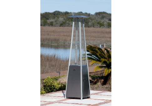 Pyramid Flame Patio Heater Commercial Site Furnishings