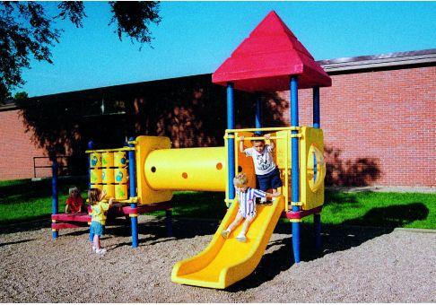 Ada Compliant Preschool Playground Commercial Site