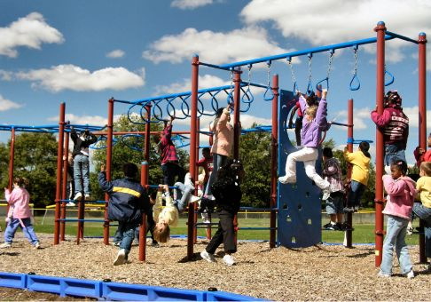 Extreme Obstacle Course Playground Commercial Site