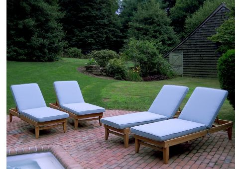 Sunbrella Spa Chaise Cushions