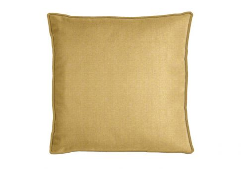 Lovely Highland Taylor Silk Matte Gold Pillow