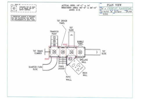 Pdf playground plans for preschool plans free for Playground blueprints
