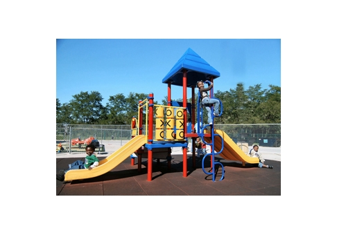Small Preschool Playground Commercial Site Furnishings