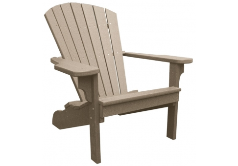 Recycled Plastic Adirondack Chair Commercial Site Furnishings