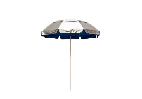 6 5 39 solar reflective lifeguard umbrella with pacific blue