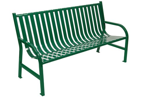 Oakley Park Bench Commercial Site Furnishings