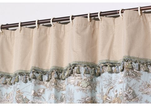 blue curtains shower toile bath accessories compare prices