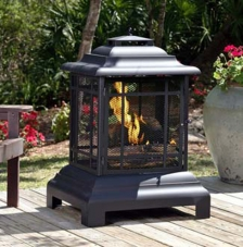 patio heaters, outdoor heaters, fire pits, patio fireplaces