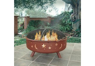 Super Sky Fire Pit, Stars & Moons, Georgia Clay45