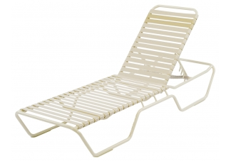 Country Club Strap Extended Chaise Lounge