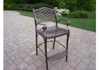 Mississippi Bar Stool Antique Bronze