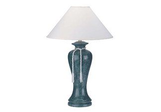Ceramic Table Lamp - Green