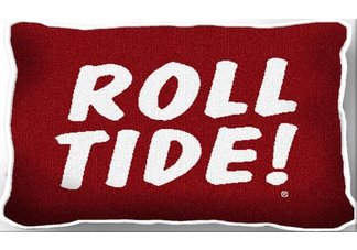 Univ of Alabama Roll Tide Pillow